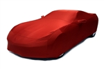 2014 2015 C7 Corvette Car Cover- Daytona Sunrise Orange Color Matched Indoor Stretch