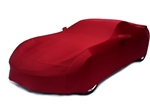 2014 2015 C7 Corvette Car Cover- Crystal Red Metallic Color Matched Indoor Stretch