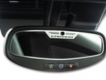 2010-2013 Camaro Rear View Mirror Trim w/Logo