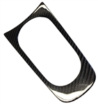 2010-2014 Camaro Cup Holder Trim - Real Carbon Fiber