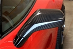C7 Corvette APR Real Carbon Fiber Exterior Mirror Housings