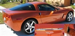 C6 Corvette Chrome Spoiler and Handles