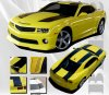 Bee 2 Hood Roof and Deck Stripe Kit for the 2010-2013 Camaro