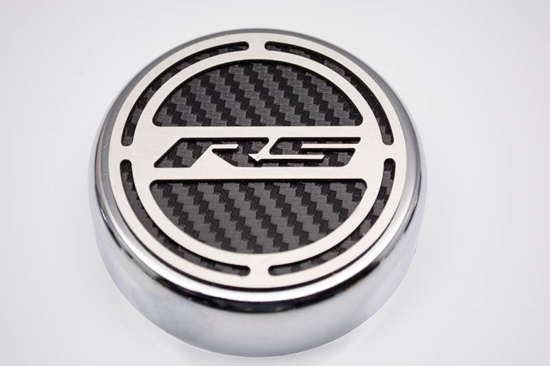 "2010-2014 Camaro V6 | Cap Cover Set ""RS"" Series Automatic 5pc Carbon Fiber"