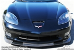 C6 Corvette Z06 Carbon Fiber VII Front Splitter - APR