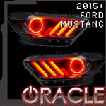 2015 Ford Mustang LED Headlight Concept HALO Kit