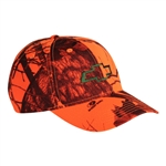 CHEVROLET BOWTIE BLAZE ORANGE BUCK CAP