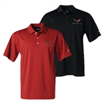 C7 CORVETTE MENS NIKE DRI FIT POLO