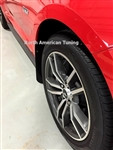 2015 Ford Mustang Stealth Splash Guards Mud Flaps Kit