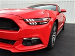 2015 Ford Mustang Painted Headlight Splitters