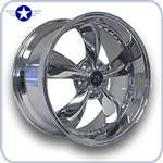 2005 2006 2007 Mustang Wheels Chrome Bullit Motorsport Deep Dish