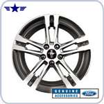 "2010 2011 Mustang 18"" Chrome Aluminum Set of 4 Wheels"