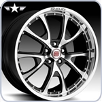 2005 - 2012 Mustang Shelby CS40 20x10 Black Wheel