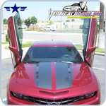 2010 2011 2012 Camaro Vertical Doors Bolt-On Kit
