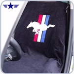 2010 - 2015 Mustang Black Seat Cover