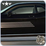 2008 2009 2010 2011 Challenger Retro USA Chrome Rocker Moldings