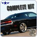 2008 2009 2010 2011 Challenger Retro USA Chrome Body Kit
