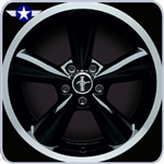 2010 2011 Mustang 18x8.5 Black Bullit Wheel
