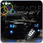 2010 - 2013 Camaro Oracle Headlight ColorSHIFT LED Halos Kit