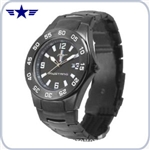 Men's Mustang Logo black Watch