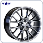 Mustang 20x8.5 Spyder Nickel Paint Wheel