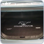2005 - 2009 Mustang Coupe Trunk Mat w/Running Pony