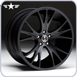 2010 2011 2012 2013 Mustang Shelby CS1 20x9 Matte Black Wheel