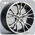 2010 2011 2012 Mustang Shelby CS1 20x9 Machined with Gunmetal Insert Wheel