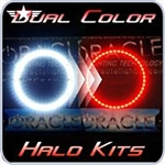 2008 - 2013 Challenger Dual Color Red / White Halo Kit