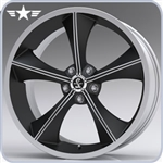 2005 - 2012 Mustang Shelby CS70 20x10 Matte Black Wheel
