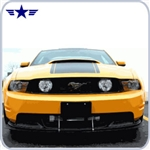 2010-2012 Front Lower Race Splitter: Boss 302, GT/CS and GT Mustang