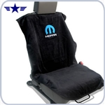 2008 - 2014 Challenger Black Seat Towel with Mopar Logo