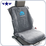 2008 - 2014 Challenger Grey Seat Towel with Mopar Logo