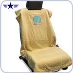 2008 - 2014 Challenger Tan Seat Towel with Mopar Logo