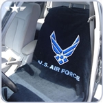 U.S. Air Force Black Seat Towel