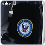 U.S. Navy Black Seat Towel