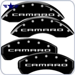 2010 2011 2012 Camaro SS Black Caliper Covers