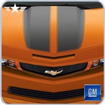 2010 2011 2012 2013 Camaro Inferno Orange Surround Grille