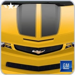 2010 2011 2012 Camaro Rally Yellow Surround Grille