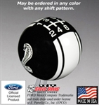 2005 - 2015 Mustang Cobra Racing Stripe Shift Knob