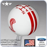 2005 - 2013 Mustang Cobra Rally Stripe Shift Knob