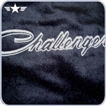 2008 - 2014 Challenger Black Seat Towel with Script Logo