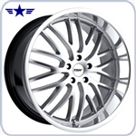 TSW Snetterton 19x8 Wheel, Hyper Silver with Machined Lip