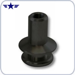 Shelby 12mm x 1.25 Black Boot Retainer for Mustang Shift Knob