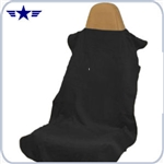 Black Seat Cover / Protective Towel
