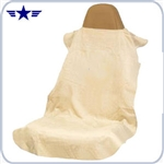 Tan Seat Cover / Protective Towel