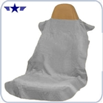 Grey Seat Cover / Protective Towel