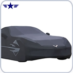 2014-15 C7 Corvette Stingray GM Black Outdoor Cover, Stingray Logo