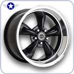 2005 2006 2007 Mustang American Racing Wheels TTM Black
