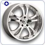 2005 2006 2007 Mustang American Racing Wheels CASINO Silver